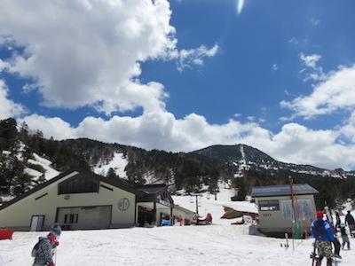 17横手山渋峠スキー場