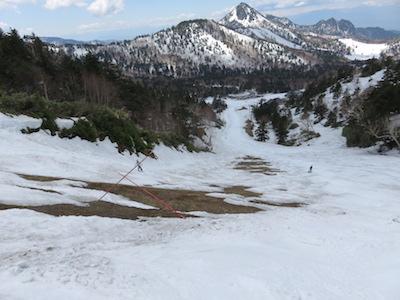 46横手山渋峠スキー場