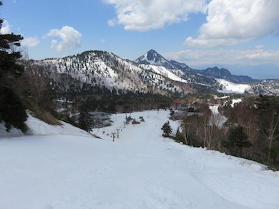 53横手山渋峠スキー場
