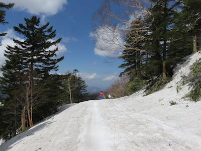 44横手山渋峠スキー場