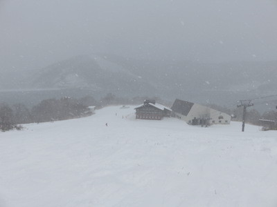 スノーボード田代第1高速リフト