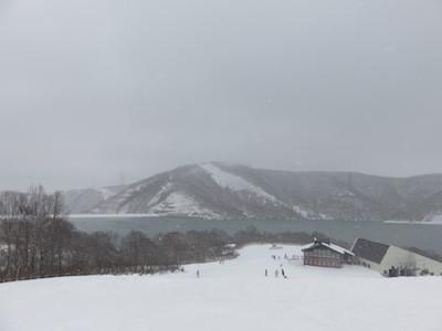 スノーボードアリエスカコース