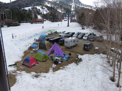 15横手山渋峠スキー場