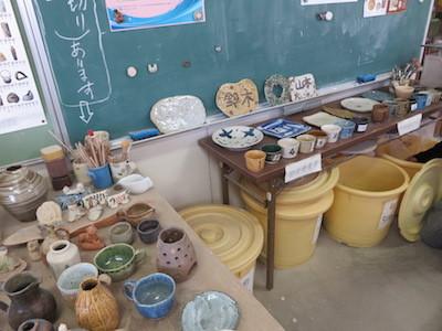 4スノーボード陶芸教室