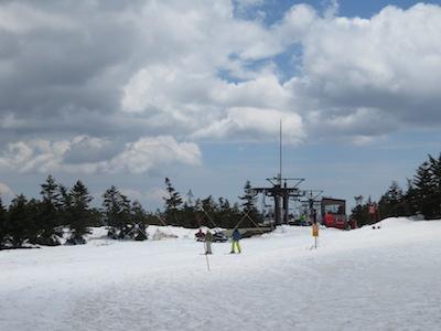 27横手山渋峠スキー場
