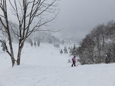 4スノーボード湯沢中里