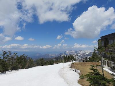 39横手山渋峠スキー場