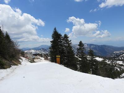48横手山渋峠スキー場