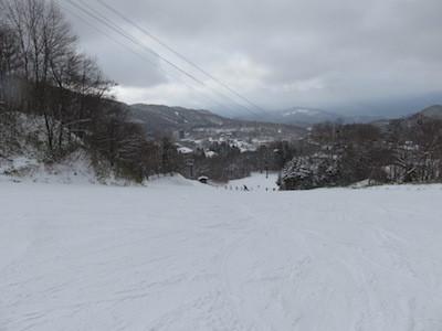 スノーボード蔵王温泉