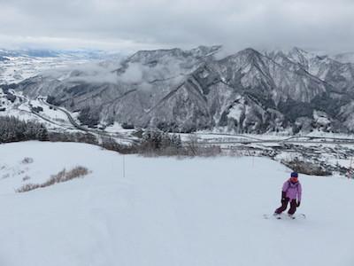 19スノーボード湯沢高原