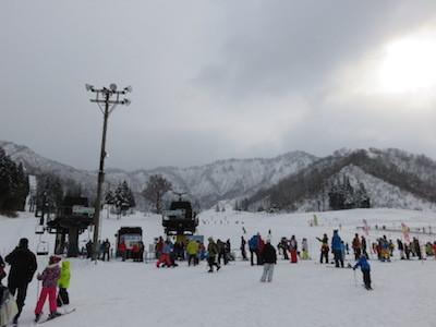 3スノーボード湯沢中里