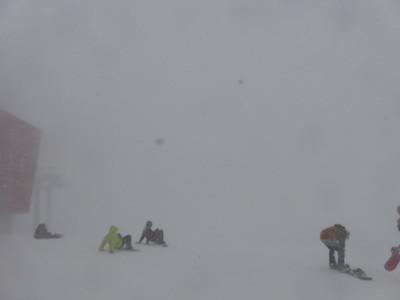 スノーボード夏油高原