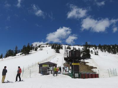 34横手山渋峠スキー場