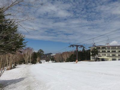 10横手山渋峠スキー場