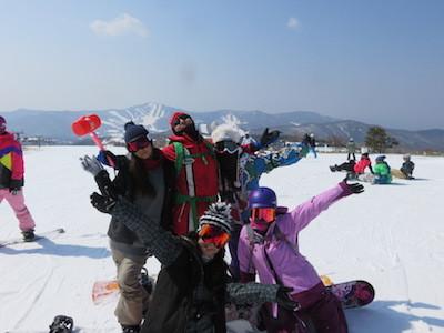 1スノーボード菅平