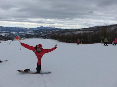 1スノーボードほたか牧場