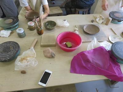 9スノーボード陶芸教室