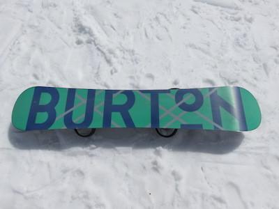 2スノーボードBURTON CUSTOM X