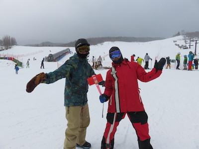 18スノーボード開田高原マイア