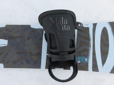 1ビンディングBURTON MALAVITA ReFlex