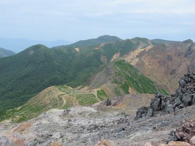9 百名山那須岳