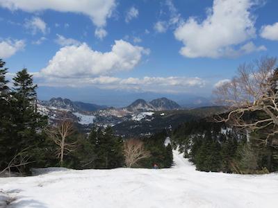43横手山渋峠スキー場