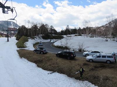 14横手山渋峠スキー場