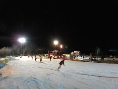 スノーボードイエティコース