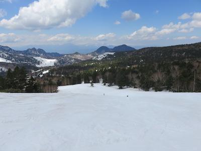 54横手山渋峠スキー場
