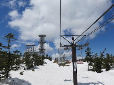 38横手山渋峠スキー場