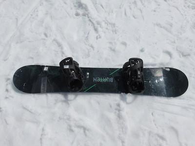 1スノーボードBURTON CUSTOM X
