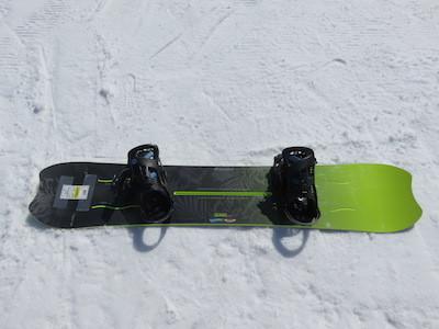 2スノーボードKISSMARK AIRGROOVE