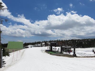 32横手山渋峠スキー場