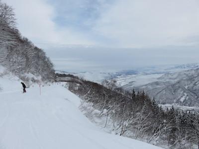 15スノーボード湯沢高原