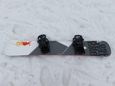 1スノーボードSG FORCE PRO TEAM