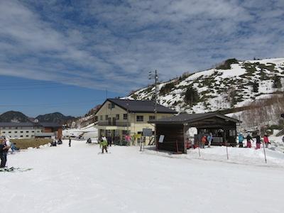 12横手山渋峠スキー場